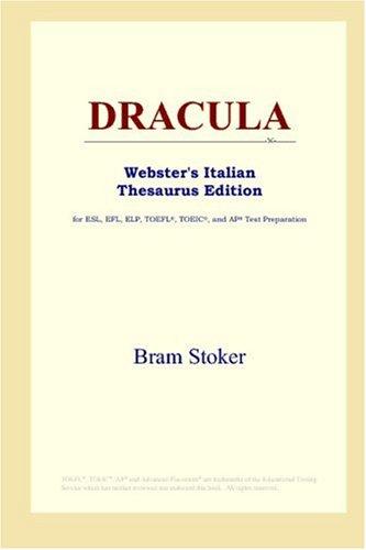 9780497261375: DRACULA (Webster's Italian Thesaurus Edition)