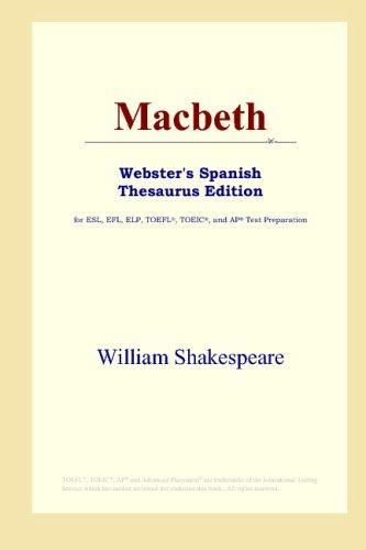 9780497261955: Macbeth (Webster's Spanish Thesaurus Edition)