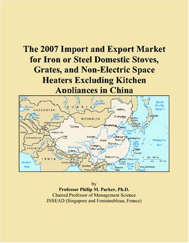 The 2007 Import and Export Market for Iron or Steel Domestic Stoves, Grates, and Non-Electric Space Heaters Excluding Kitchen Appliances in China 9780497645847 On the demand side, exporters and strategic planners focusing on iron or steel domestic stoves, grates, and non-electric space heaters excluding kitchen appliances in China face a number of questions. Which countries are supplying iron or steel domestic stoves, grates, and non-electric space heaters excluding kitchen appliances to China? How important is China compared to others in terms of the entire global and regional market? How much do the imports of iron or steel domestic stoves, grates, and non-electric space heaters excluding kitchen appliances vary from one country of origin to another in China? On the supply side, China also exports iron or steel domestic stoves, grates, and non-electric space heaters excluding kitchen appliances. Which countries receive the most exports from China? How are these exports concentrated across buyers? What is the value of these exports and which countries are the largest buyers? This report was created for strategic planners, international marketing executives and import/export managers who are concerned with the market for iron or steel domestic stoves, grates, and non-electric space heaters excluding kitchen appliances in China. With the globalization of this market, managers can no longer be contented with a local view. Nor can managers be contented with out-of-date statistics which appear several years after the fact. I have developed a methodology, based on macroeconomic and trade models, to estimate the market for iron or steel domestic stoves, grates, and non-electric space heaters excluding kitchen appliances for those countries serving China via exports, or supplying from China via imports. It does so for the current year based on a variety of key historical indicators and econometric models. In what follows, Chapter 2 begins by summarizing where China fits into the world market for imported and exported iron or steel domestic stoves, grates, and non-electric space heaters excluding kitchen appliance...
