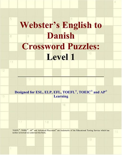 9780497826765: Webster's English to Danish Crossword Puzzles: Level 1