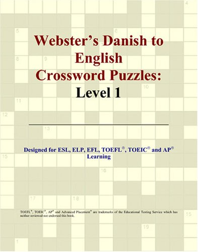 9780497826772: Webster's Danish to English Crossword Puzzles: Level 1