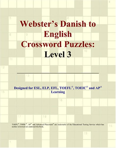 9780497826802: Webster's Danish to English Crossword Puzzles: Level 3