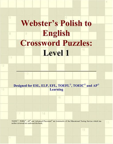 9780497831417: Webster's Polish to English Crossword Puzzles: Level 1