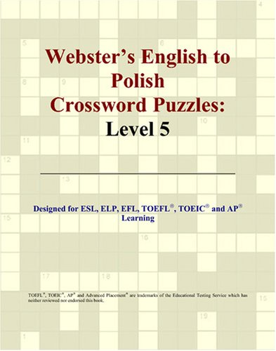 9780497831493: Webster's English to Polish Crossword Puzzles: Level 5