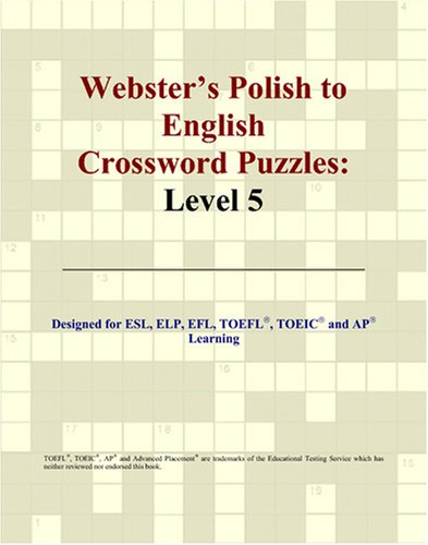 9780497831509: Webster's Polish to English Crossword Puzzles: Level 5