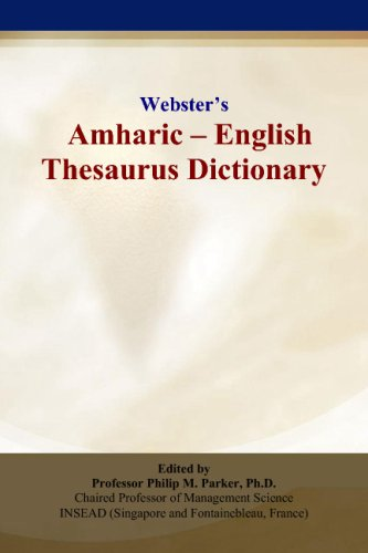 9780497834241: Webster's Amharic - English Thesaurus Dictionary
