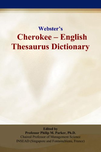 9780497834661: Webster's Cherokee - English Thesaurus Dictionary