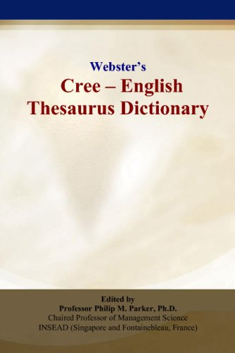 9780497834753: Webster's Cree - English Thesaurus Dictionary