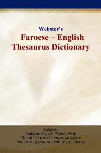 9780497834890: Webster's Faroese - English Thesaurus Dictionary