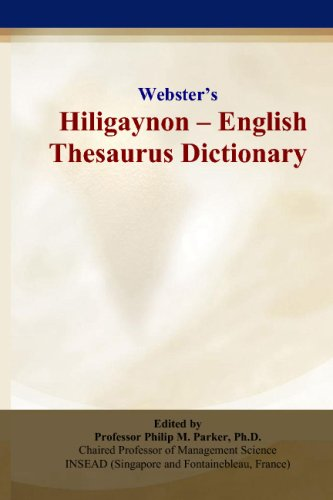9780497835163: Webster's Hiligaynon - English Thesaurus Dictionary