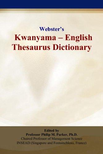 9780497835644: Webster's Kwanyama - English Thesaurus Dictionary