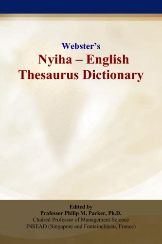 9780497836498: Webster's Nyiha - English Thesaurus Dictionary