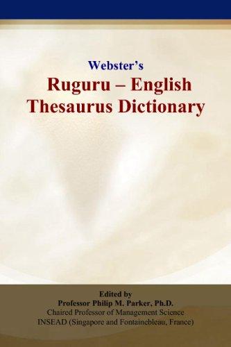 9780497836870: Webster's Ruguru - English Thesaurus Dictionary