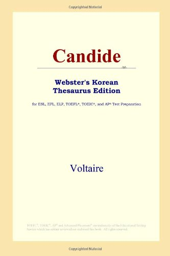 9780497900229: Candide (Webster's Korean Thesaurus Edition)