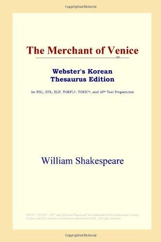 9780497900496: The Merchant of Venice (Webster's Korean Thesaurus Edition)