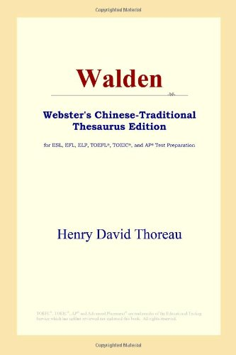 9780497901301: Walden (Webster's Chinese-Traditional Thesaurus Edition)