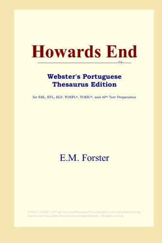 9780497902568: Howards End (Webster's Portuguese Thesaurus Edition)