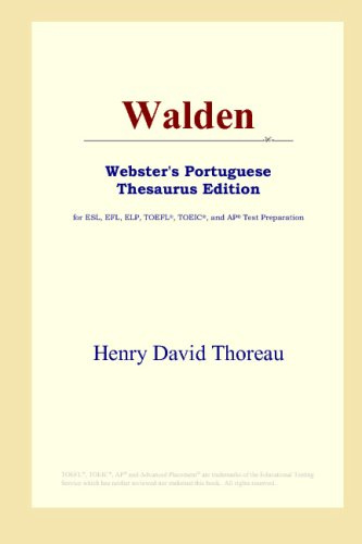 9780497902889: Walden (Webster's Portuguese Thesaurus Edition)