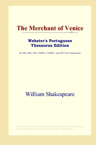 9780497903794: The Merchant of Venice (Webster's Portuguese Thesaurus Edition)