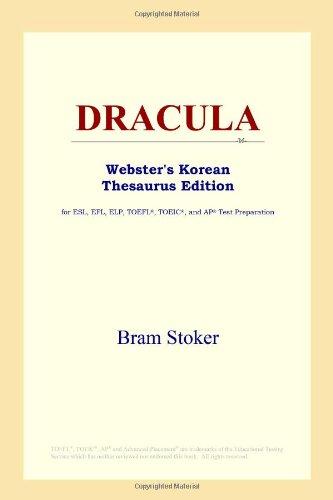 9780497913403: DRACULA (Webster's Korean Thesaurus Edition)