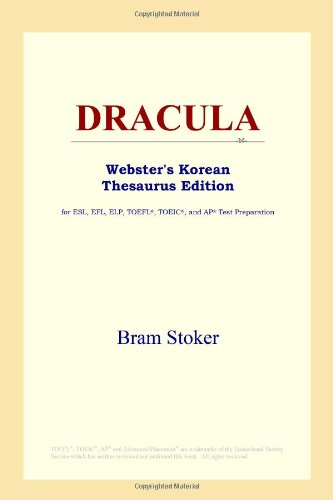 9780497913403: DRACULA (Webster's Korean Thesaurus Edition)