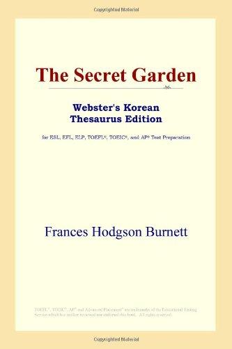 The Secret Garden (Webster's Korean Thesaurus Edition)