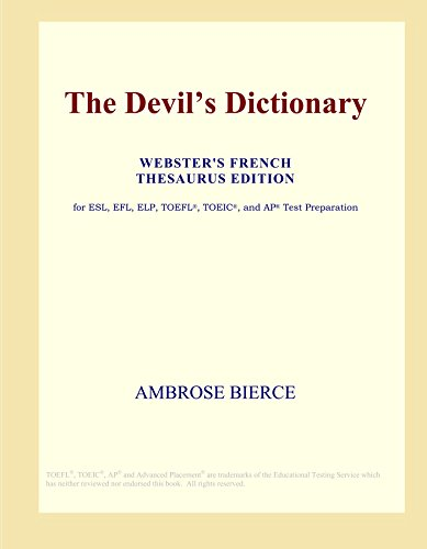 9780497955281: The Devil's Dictionary (Webster's French Thesaurus Edition)