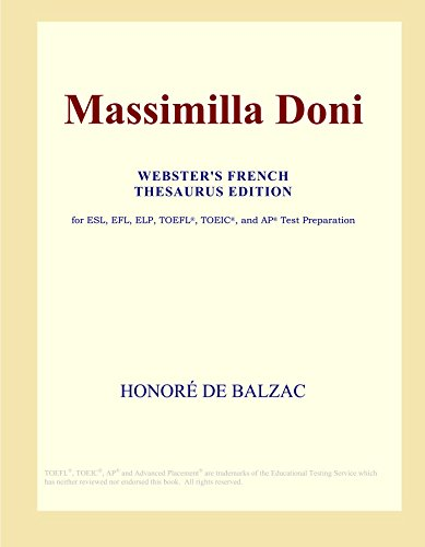 9780497973032: Massimilla Doni (Webster's French Thesaurus Edition)