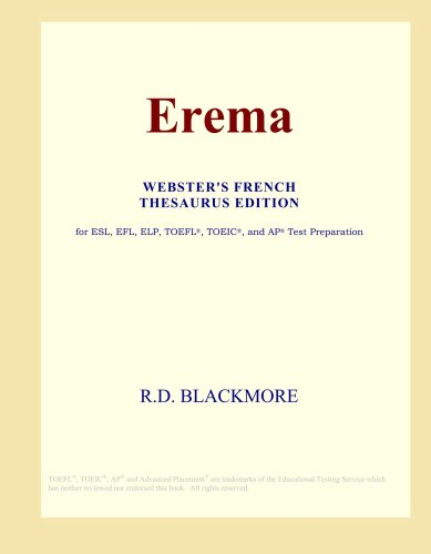 9780497987367: Erema (Webster's French Thesaurus Edition)