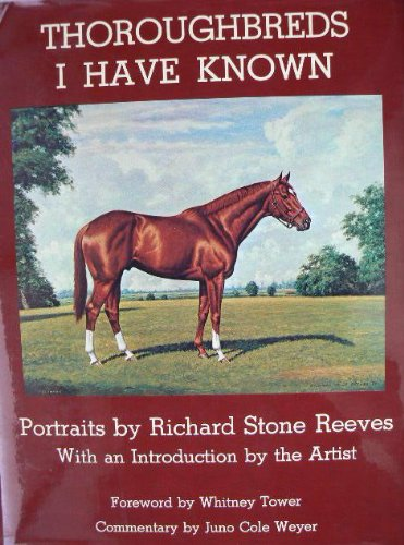 9780498011047: Thoroughbreds I have known;