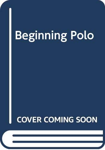 9780498012143: Beginning Polo