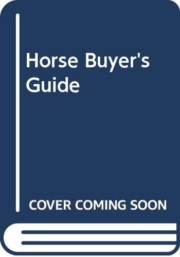 Horse Buyer's Guide: Posey, Jeanne K.
