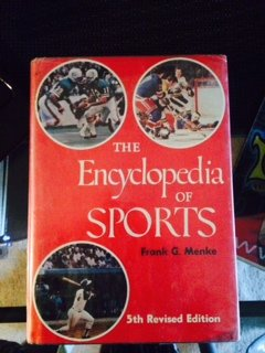 The encyclopedia of sports: Frank G Menke