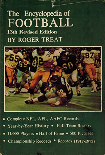 9780498017179: The Encyclopedia of Football (13th Revised Edition)