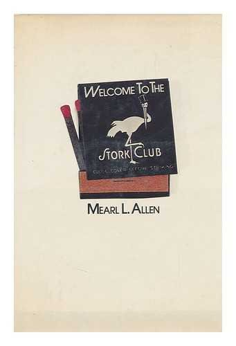 9780498023958: Welcome to the Stork Club
