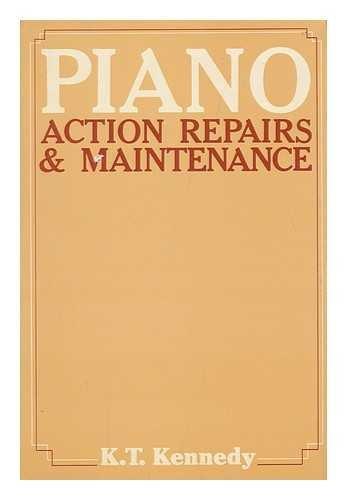 9780498024023: Piano action repairs and maintenance