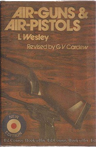 Air -Guns and Air-Pistols Air -Guns and Air-Pistols, L. Wesley - G. V. Cardew Revision, Used, 9780498024696 This new revised American editon is in very good condition with a few light stains on the FFEF. There are 208 pages that identify the various manufactures and types of air-guns and air-pistols. It provides a history of these pneumatic type guns, and other items used in conjunction with these guns including scales, targets, ammunition, ballistic data and much more. A group of photographs toward the center of this book, and a list of these illustrations toward the front of this book is provided. It has a list of manufactures and air-gun clubs. This book is loaded with much comparative date for these items. Size: 5.375 By 8 Inches Tall