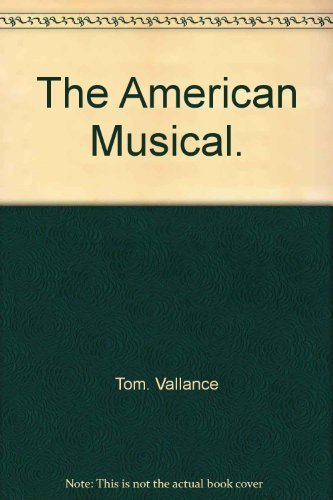 The American Musical: Vallance, Tom