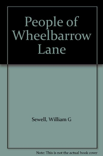 9780498076886: People of Wheelbarrow Lane