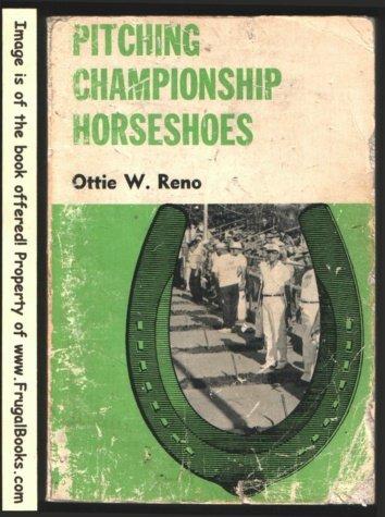 9780498077289: Pitching championship horseshoes