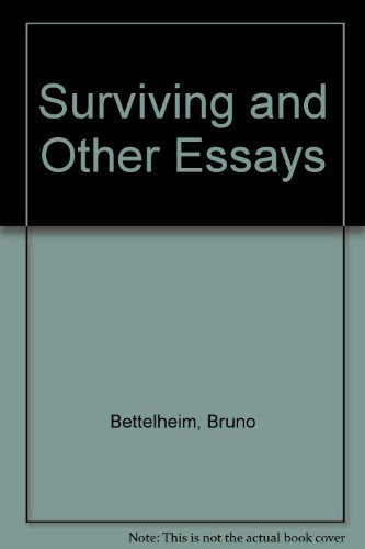9780500012161: Surviving and Other Essays