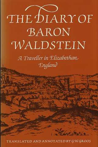 9780500012543: Diary of Baron Waldstein: A Traveller in Elizabethan England. (English and Czech Edition)