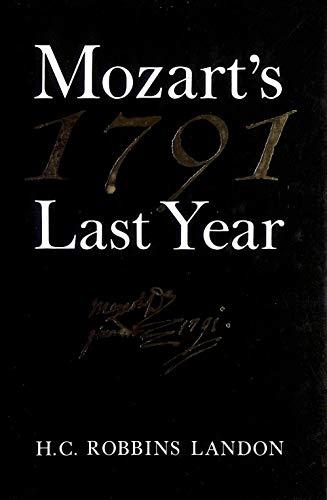 9780500014110: 1791: Mozart's Last Year
