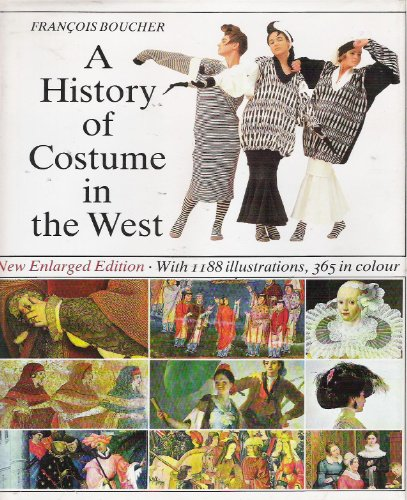 9780500014165: History of the Costume in the West