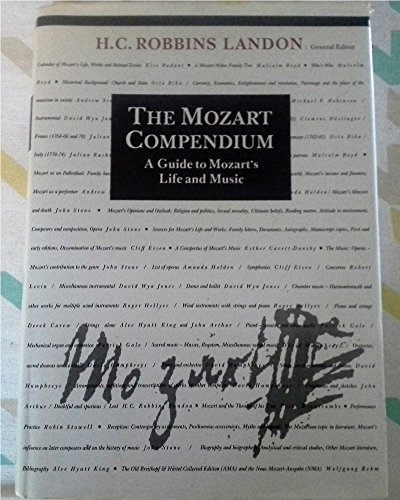 9780500014813: The Mozart Compendium: A Guide to Mozart's Life and Music