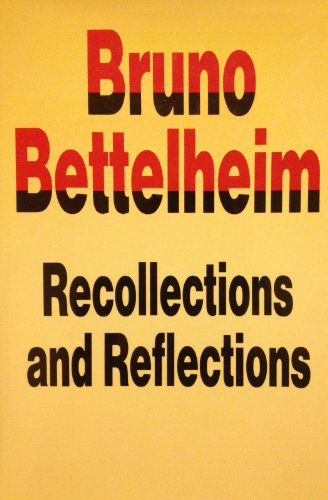 9780500014837: Recollections and Reflections