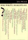 9780500017005: Who Wrote Shakespeare?