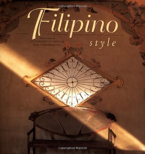 9780500017821: Filipino Style (English and Spanish Edition)