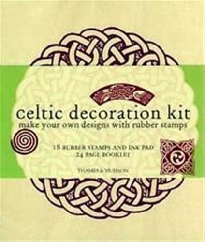 Celtic Decoration Kit: Make Your Own Designs with Rubber Stamps (Celtic Design): Paul, Jim