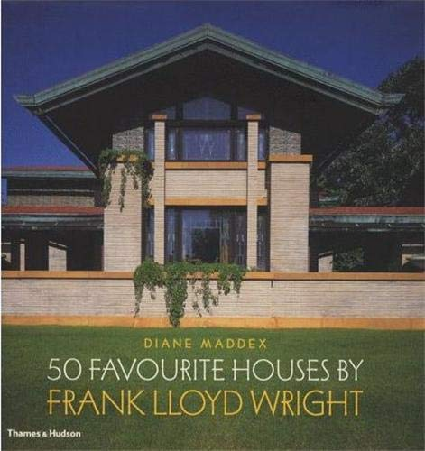 50 Favourite Houses by Frank Lloyd Wright.